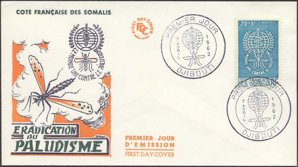 Somalia Coast Scott B15 FDC