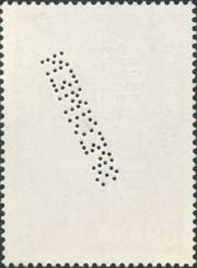 Ghana Scott 128<br />Specimen<br />Back Side