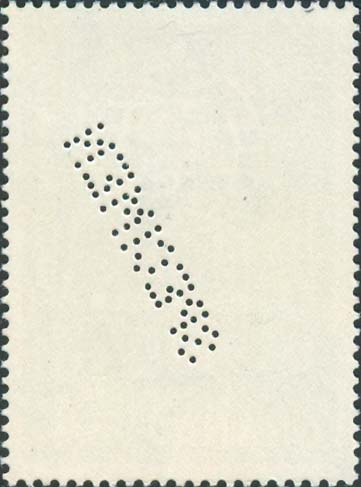 Ghana Scott 129<br />Specimen<br />Back Side