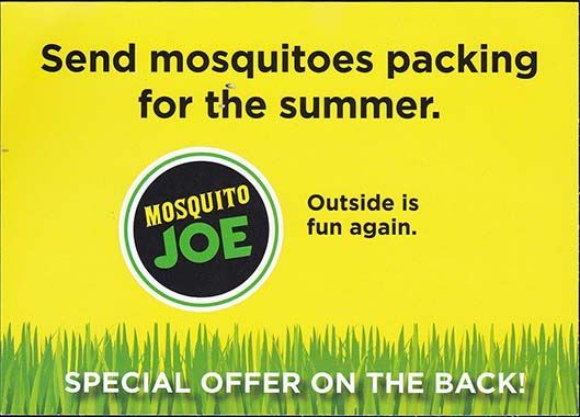 Mosquito Joe - Version 1, Side 2