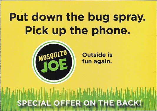 Mosquito Joe - Version 2, Side 2