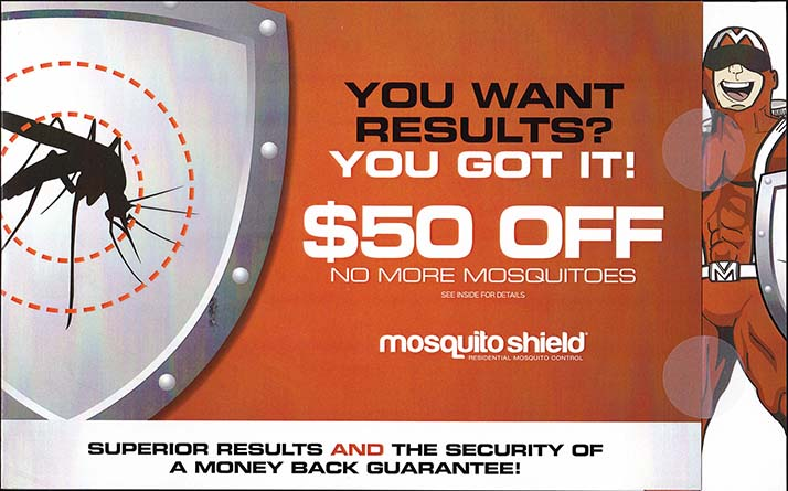 Mosquito Shield - Side 1