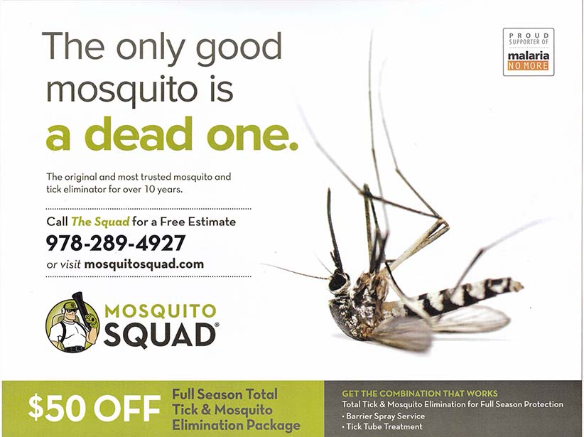 Mosquito Squad - Summer 2016 - Mailing 1 - Side 1