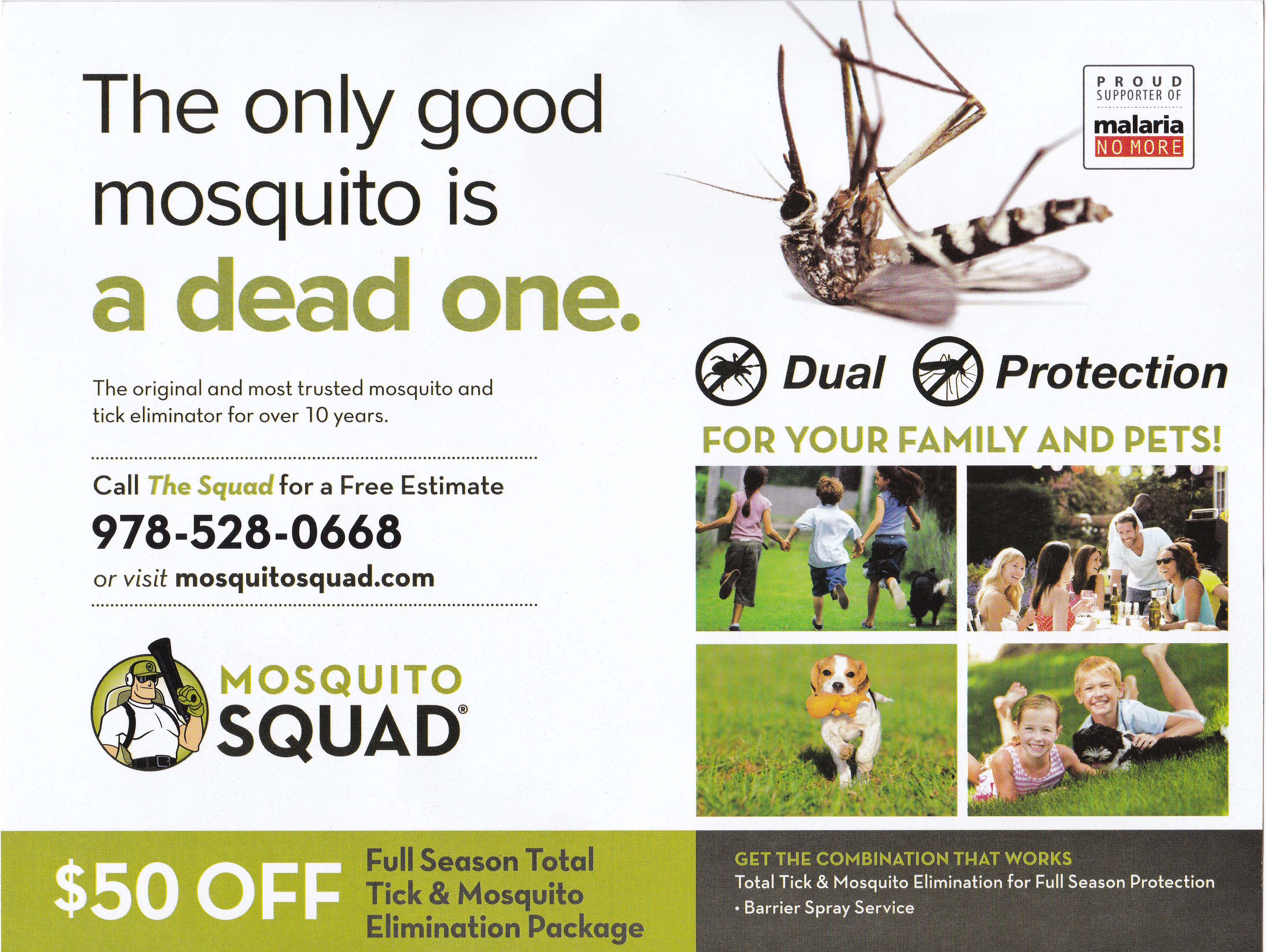 Mosquito Squad - Summer 2016 - Mailing 3 - Side 1