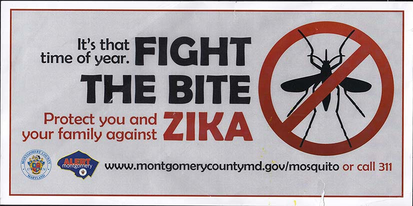 Fight The Bite, Zika Mailing - Side 1