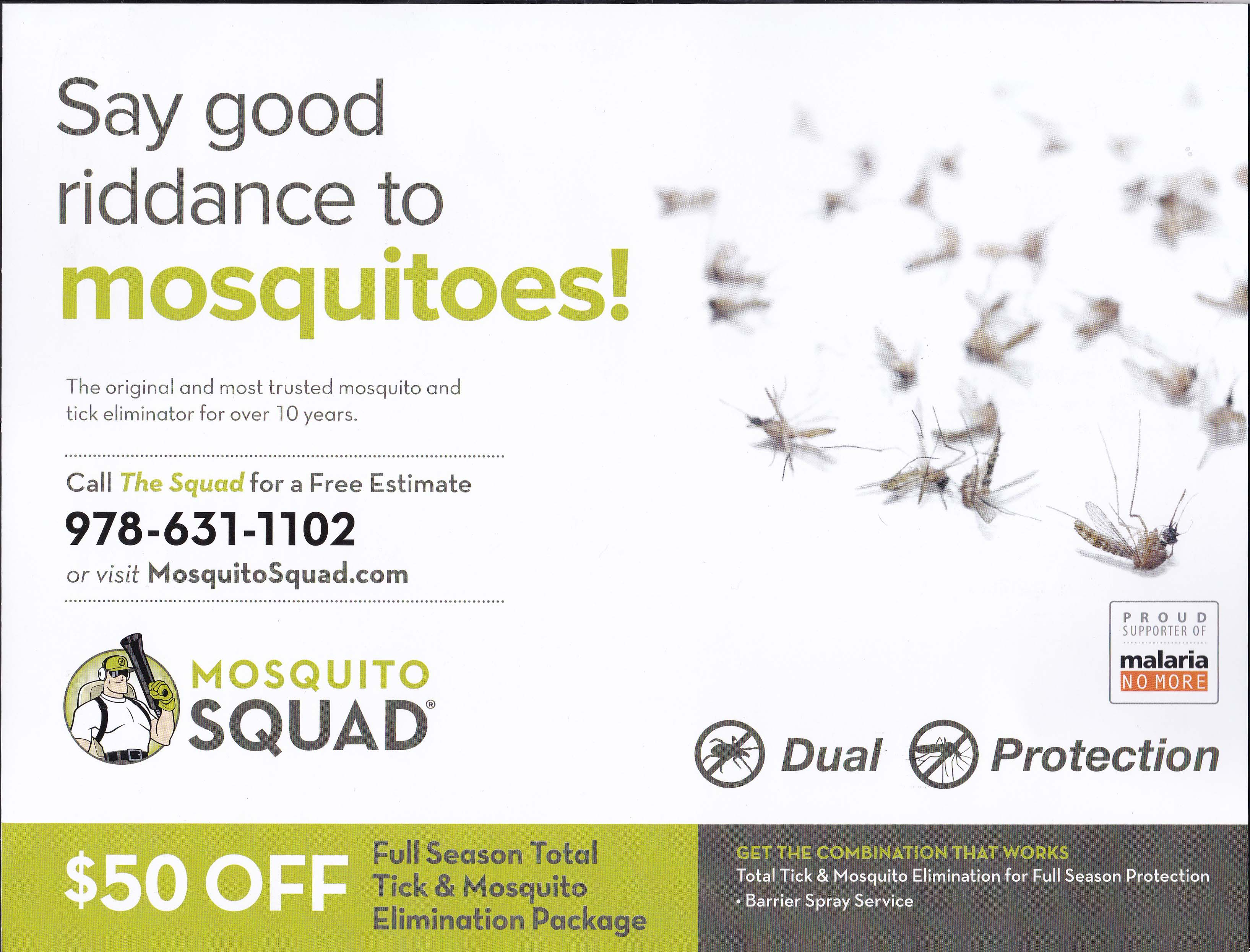 Mosquito Squad - Summer 2017 - Mailing 2 (Mid May) - Side 1