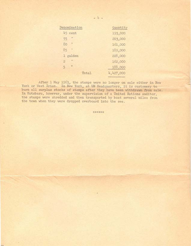 Third Class mail contents - page 4