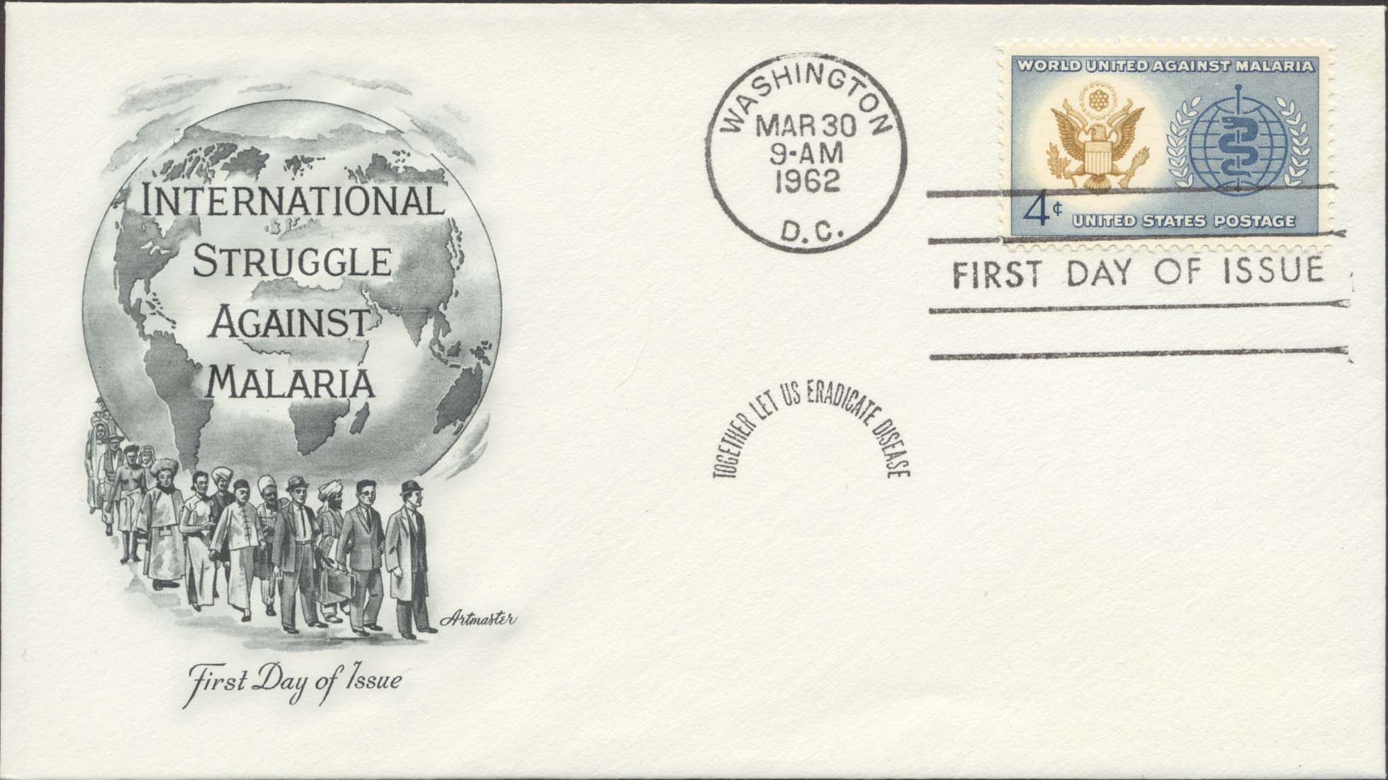 United States Scott 1194 On FDC With Artmaster Cachet