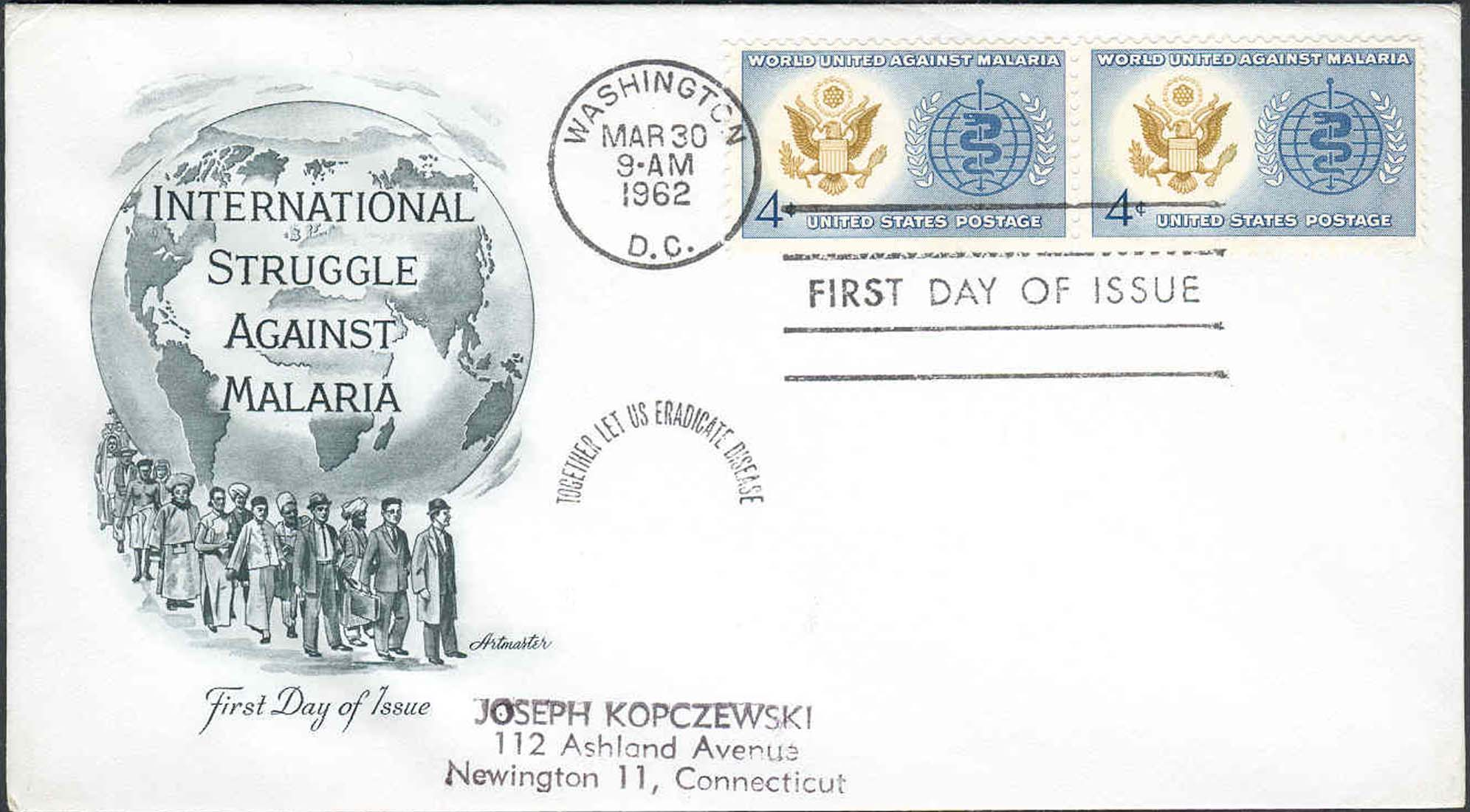 United States Scott 1194 (Pair) On FDC With Artmaster Cachet