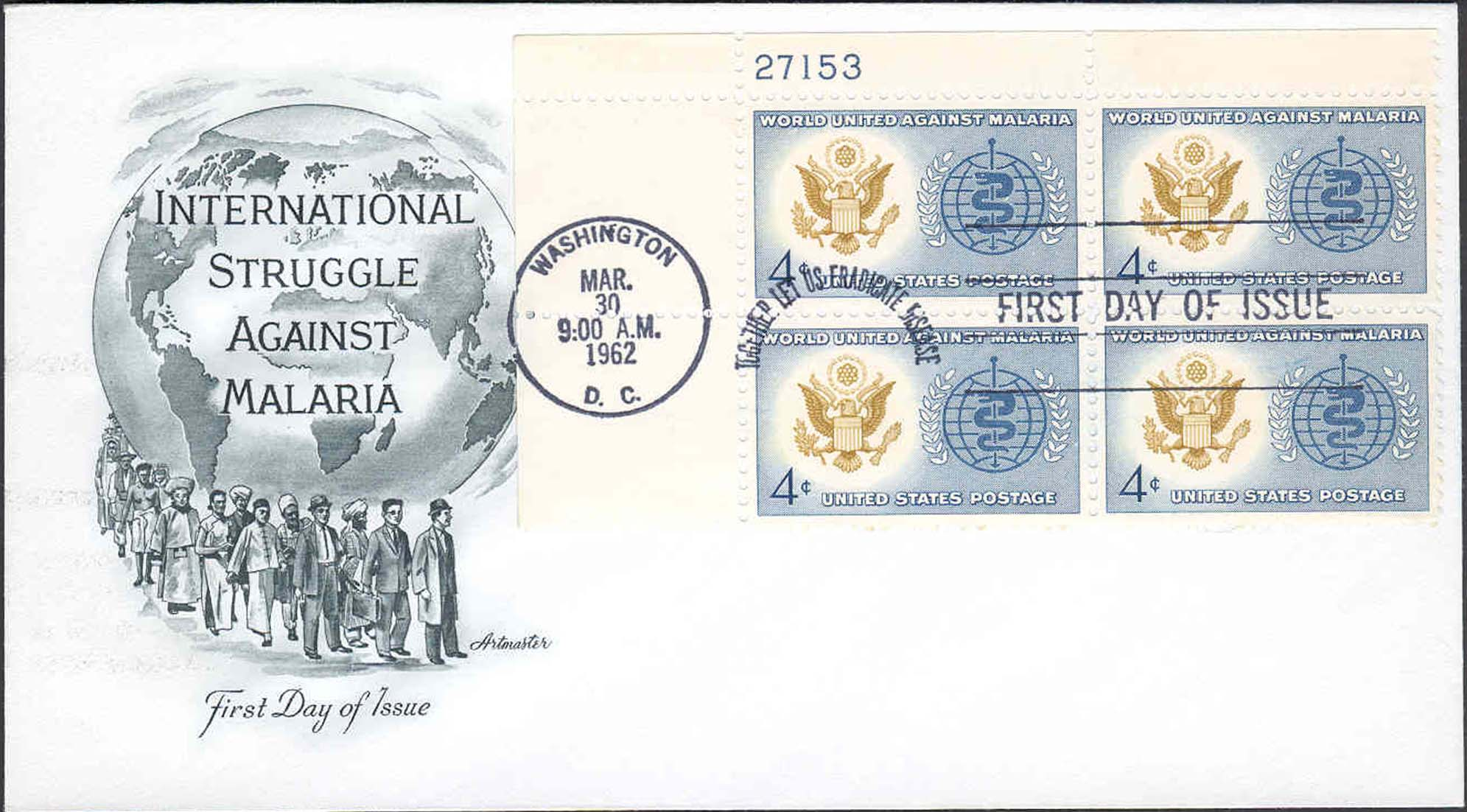 United States Scott 1194 On FDC With Artmaster Cachet (Plate Block 21753 Upper Left)