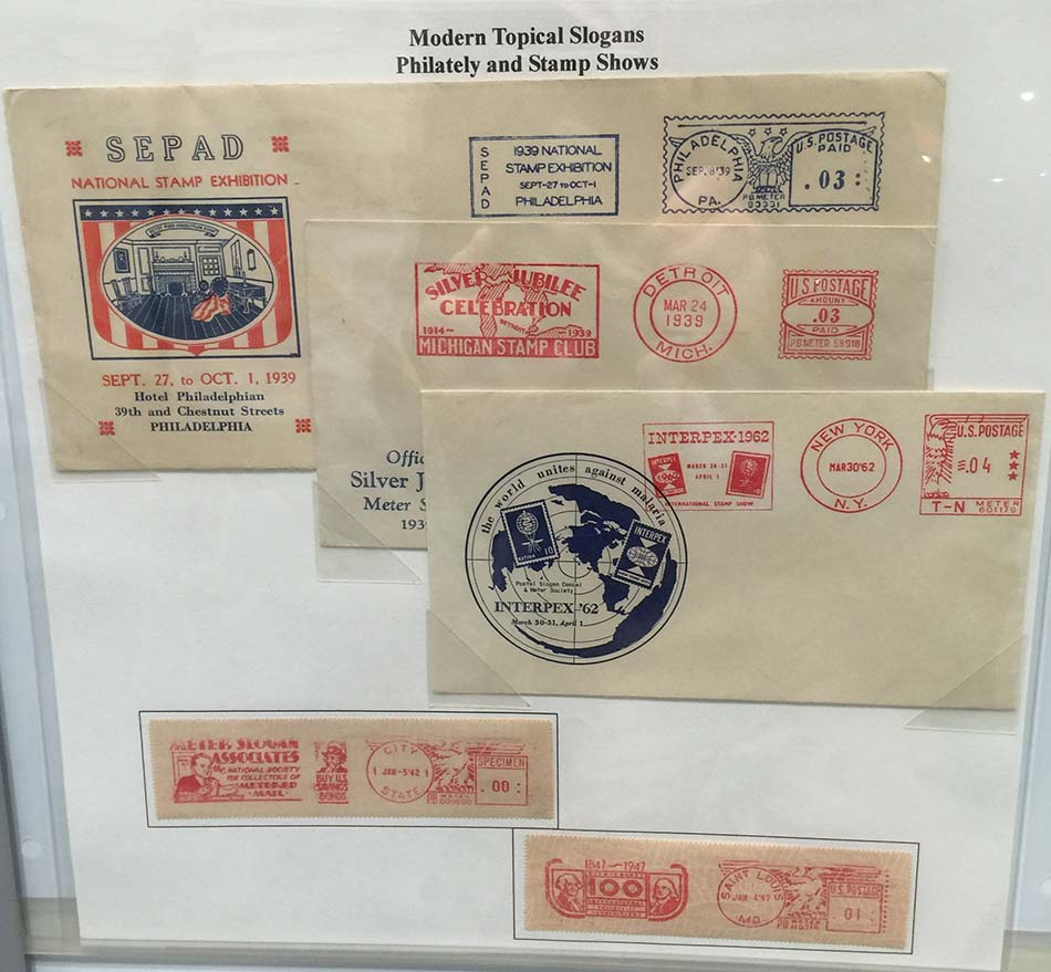 Meter Stamp Society Exhibit Page