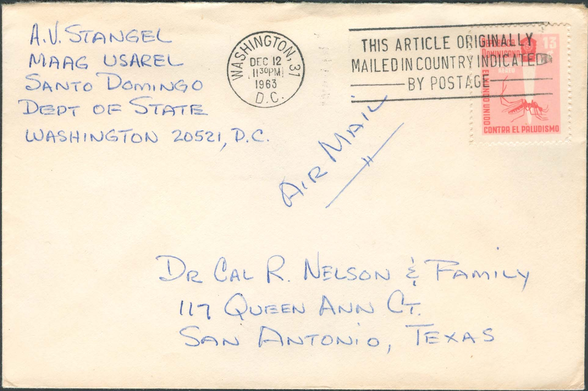 Malaria philatelists international dominican republic diplomatic pouch mail publicscrutiny Images